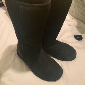 UGGs Tall Black boots
